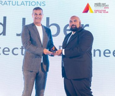 In the Press | LACASA's Managing Partner, Emad Jaber, has been named Executive of the Year at the 2015 Middle East Consultant Awards