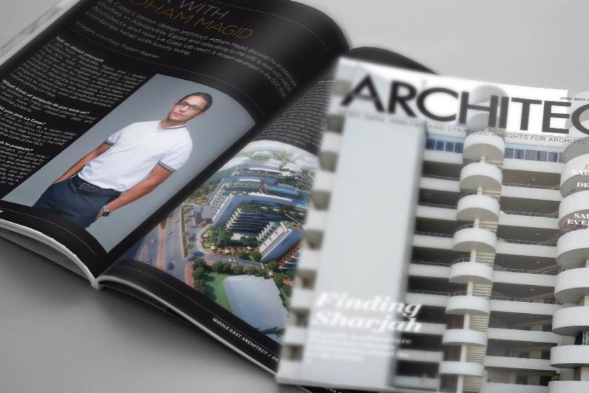 In the Press | Meet La Casa's senior design architect, Adham Magid